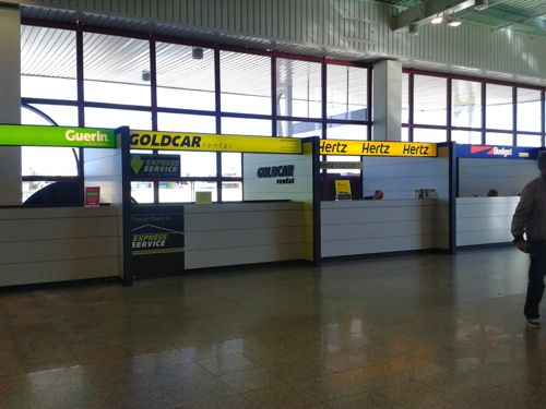 Goldcar Car Hire Faro Airport