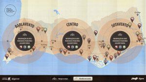 Algarve Karte