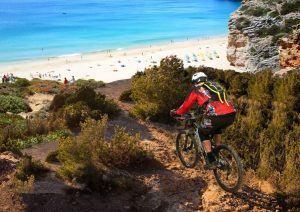 Biking an der Algarve