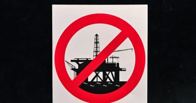 ASMAA Symbol für Stopp geplanter Erdölexploration