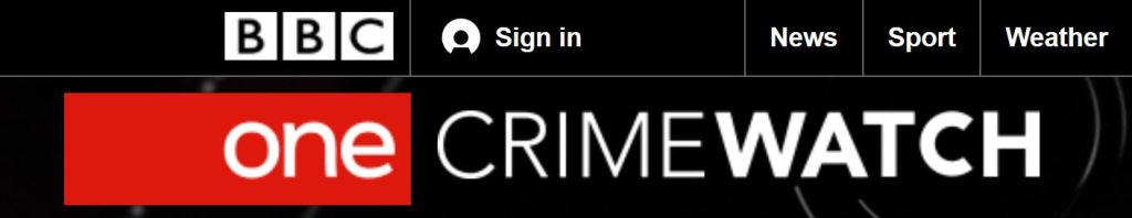 BBC Crimewatch Screenshot