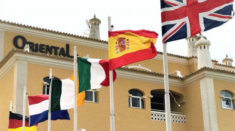 Flaggen Europa Märkte Algarve-Tourismus