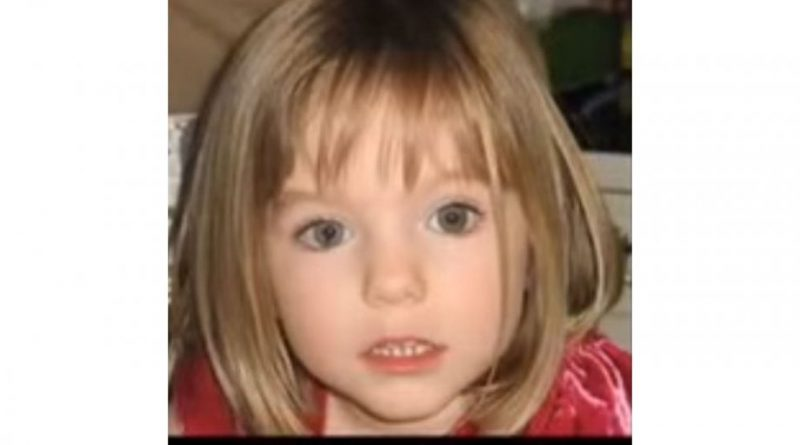 Madeleine McCann YouTube Video Screenshot