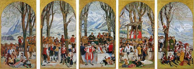 Albert Welti-Gemälde