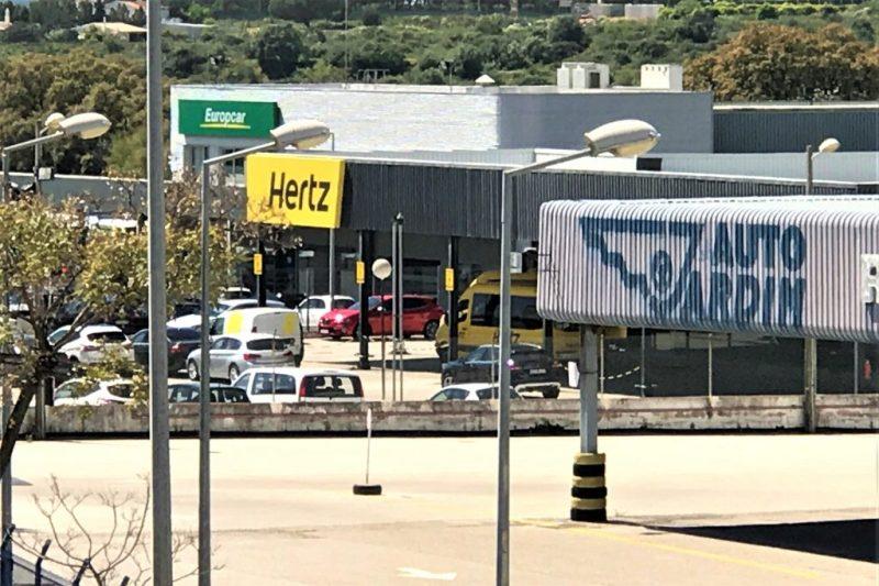Algarve-Mietwagen von Vermietern am Flughafen Faro