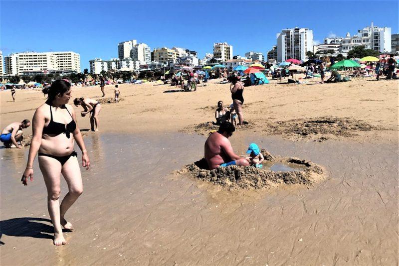 Auslastung der Algarve-Hotels im Juni 2017 sehr gut