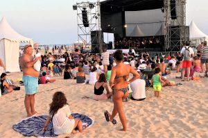 365 Algarve eröffnet mit Strandkonzert in Portimao zweite Runde