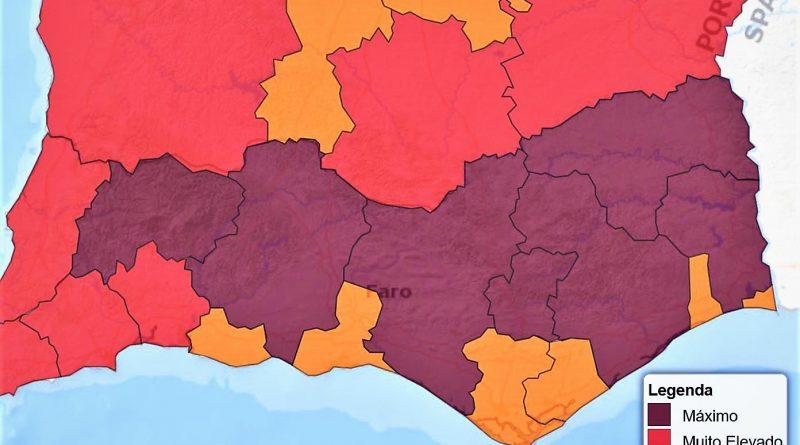 Vorsorglich Notstand ausgerufen für Ost-Algarve vom 19. bis 21. August 2017