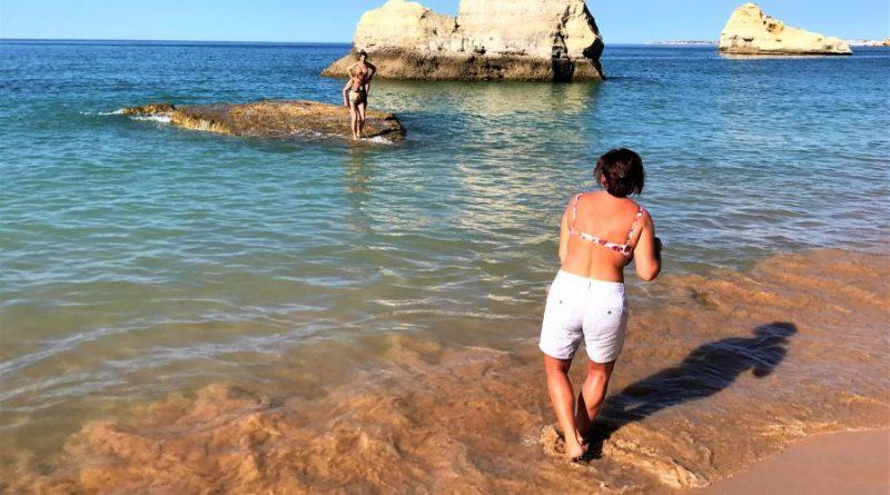 Strömung an der Algarve-Küste können tückisch sein