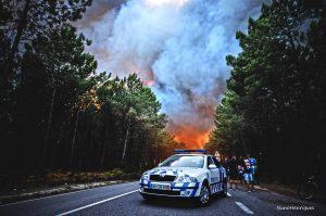 Waldbrand-Tragödie in der Mitte und im Norden Portugals fordert die Einsatzkräfte