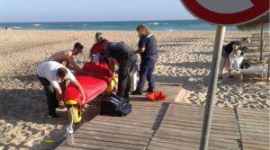 Algarve-News über Badeunfall in Salema