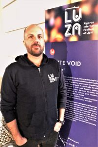 Lichtfestival LUZA an der Algarve in Loule mit Christopher Bauder