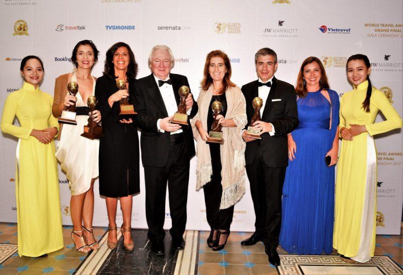 Reise-Oscars bei World Travel Awards 2017 sechsmal an Portugal vergeben
