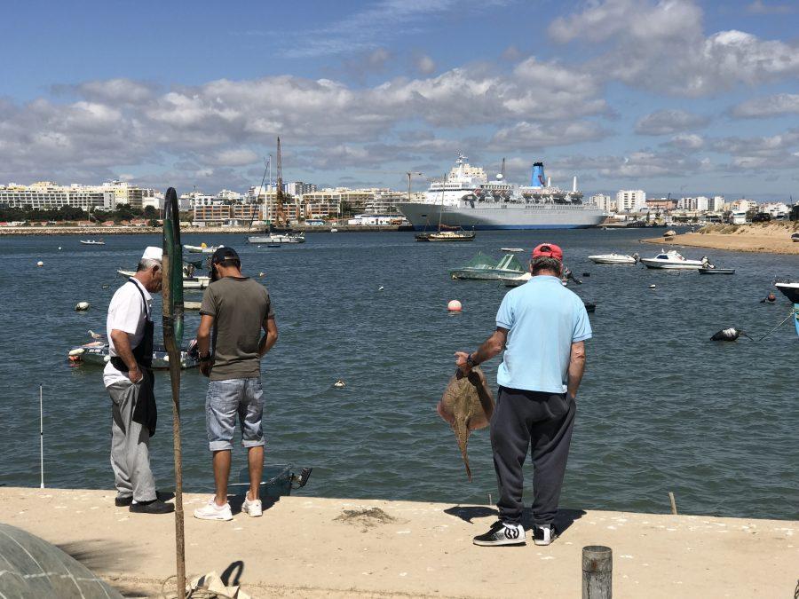 Kreuzfahrt-Passagiere lieben den Algarve-Hafen Portimao