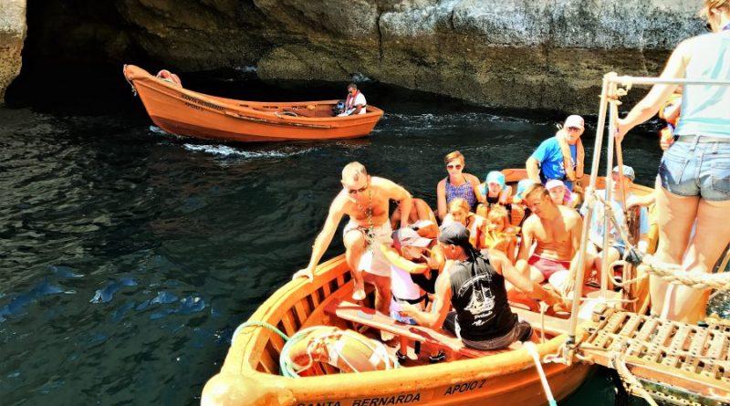 Familienurlaub an der Algarve sollte Grottenfahrt enthalten