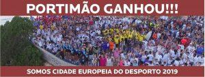 Europas Sportstadt 2019 Portimao feiert sich als Sieger gegen Cascais