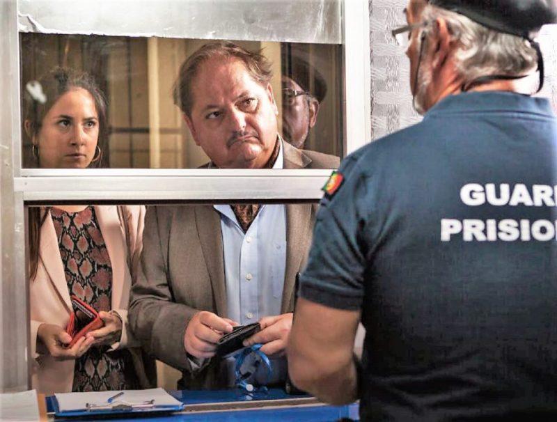 Lissabon Krimi mit portugiesischen Schauspielern und Polizei