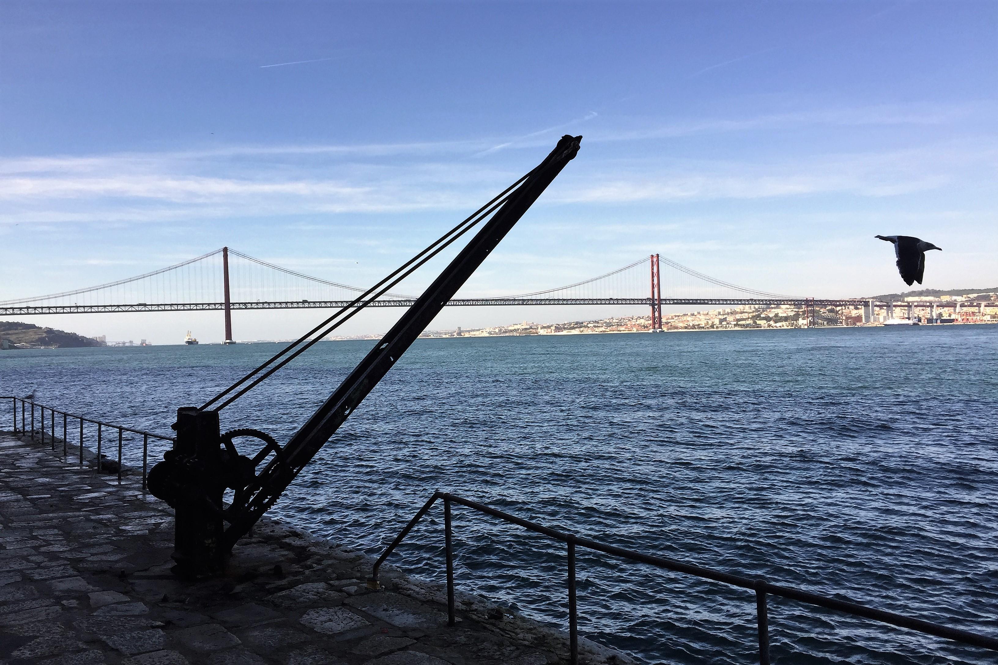 Algarve News Baufällige Brücke des 25. April in Lissabon über den Tejo