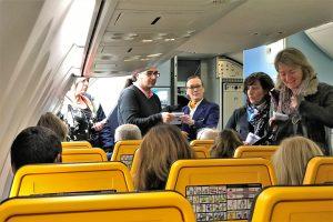 Nicht Piloten sondern Flugbegleiter in Portugal wollen bei Ryananir zu Ostern 2018 streiken