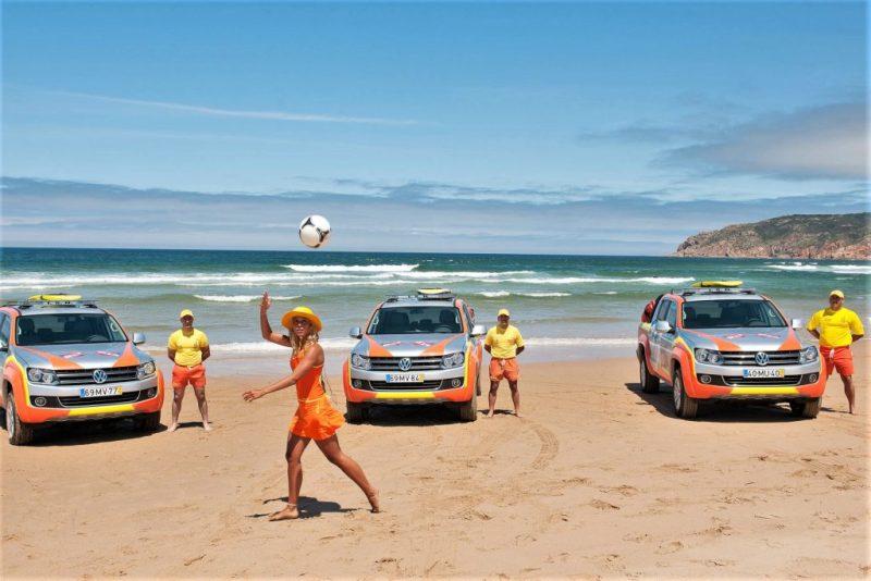 Algarve News zu Rettungsschwimmern des Instituts ISN an der Algarve