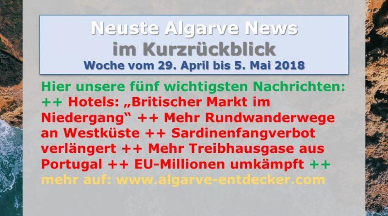 Algarve News für KW 18 vom 29. April bis 5. Mai 2018