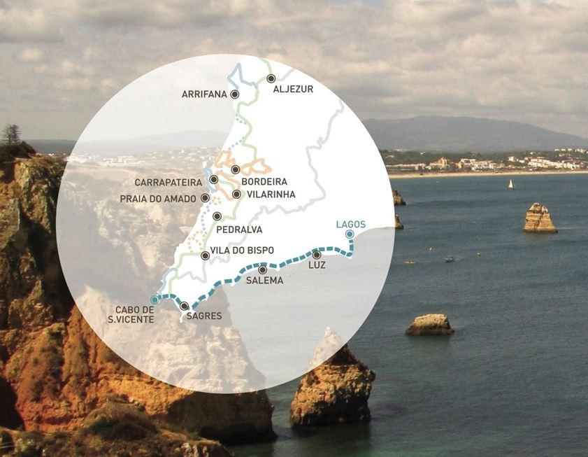 Algarve News zu Rota Vicentina bis Lagos