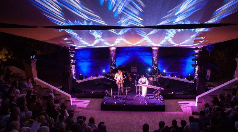 Jazz Fest Bühne in Lagoa an der Algarve