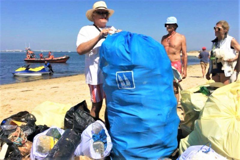 Algarve News zu Müllsammelaktion in Naturschutzgebiet Ria Formosa
