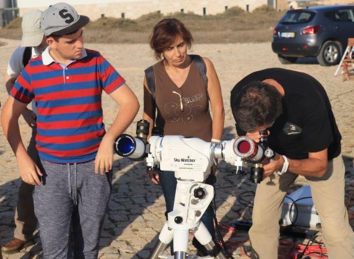 Vogelbeobachtung an der Algarve in Sagres mit viel Technik