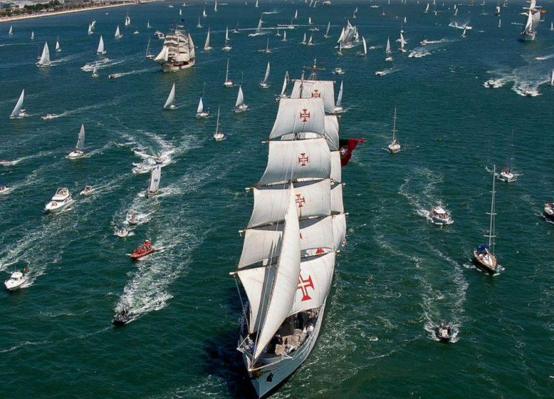 Algarve News über portugiesisches Segelschulschiff Sagres
