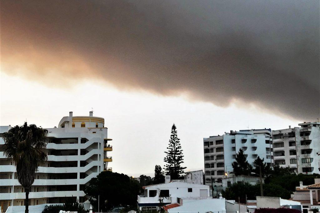 Großfeuer bei Monchique hatte Auswirkungen auf die West-Algarve