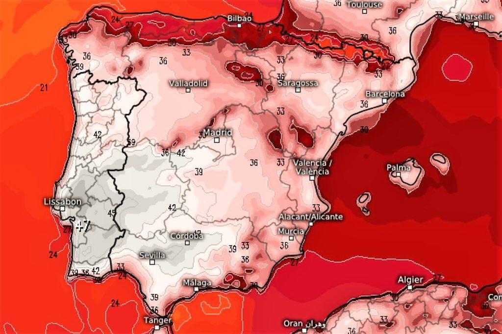 Hitze-Hölle Portugal könnte Hitzerekord Europas am 4. August 2018 brechen