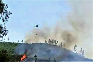 Hitze-Hölle Portugal führte in Monchique zu Flächenbrand