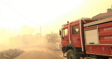 Algarve-Feuerwehr hat Waldbrand nach fünf Tagen noch nicht unter Kontrolle
