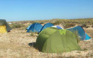 Algarve News zu Polizeiaktion gegen wildes Campen auf Culatra