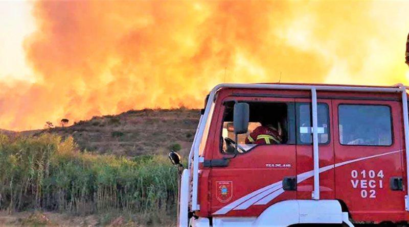 Dauerbrenner Algarve-Waldbrände im Hinterland von Monchique und Silves