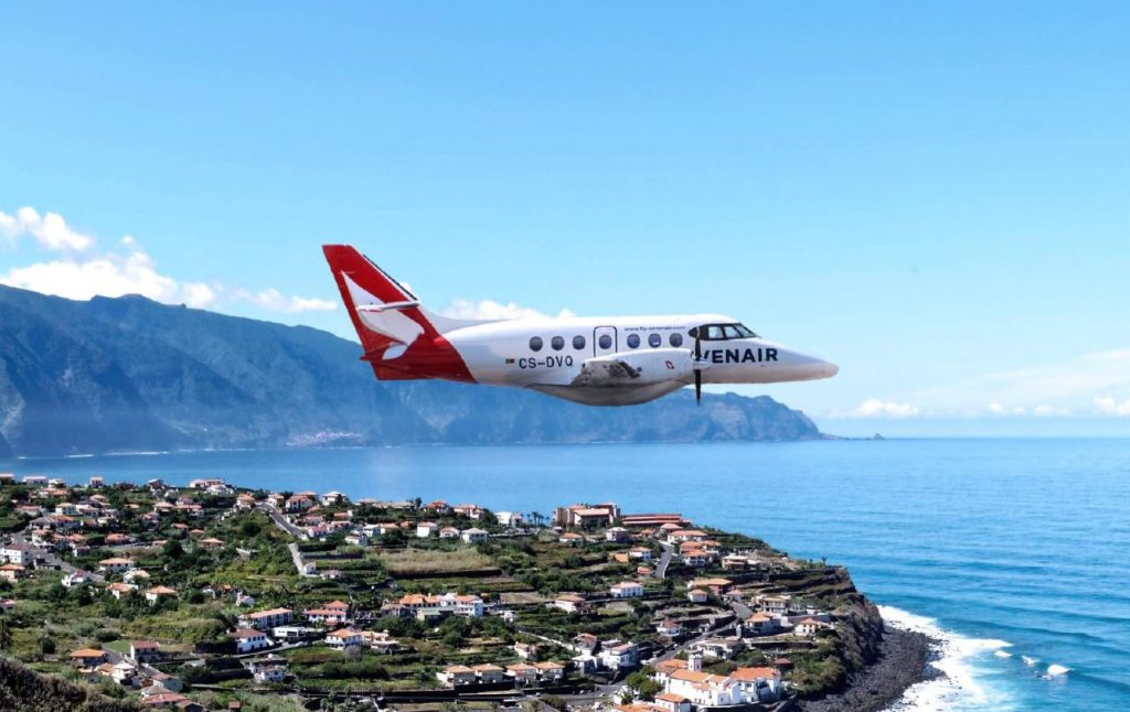 Algarve News über Flugverbindung Portimao Braganca von Seven Air