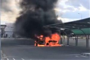 Algarve News über Autobrand auf Rastplatz Aljustrel