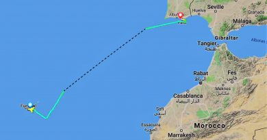 Notlandung von Transavia-Flug HV6630 in Faro
